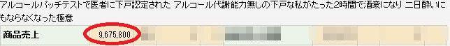 コンサル生の商材が【売上1千万円突破】間近です!