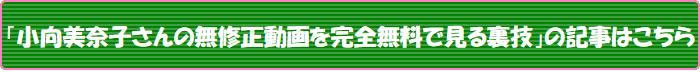 「小向美奈子さんの無修正動画を完全無料で見る裏技」の記事はこちら