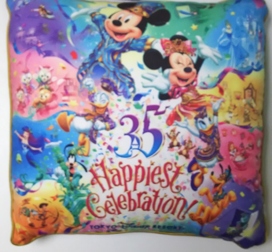 ディズニー35周年クッション