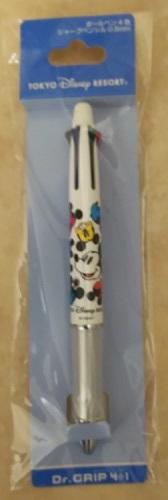 ミッキー3色ボールペン+シャーペン