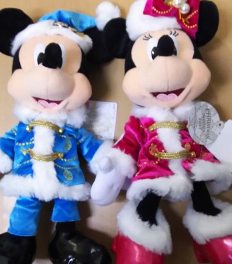 大当たり「ミッキー&ミニー クリスマスバージョンぬいぐるみセット ディズニーシーVer」