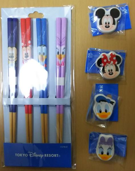 ディズニー 箸&箸置きセット
